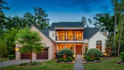 The Woodlands TX Single Family Home For Sale: $1,999,000