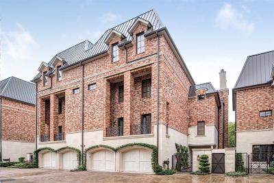 Houston TX Condo/Townhouse For Sale: $1,650,000