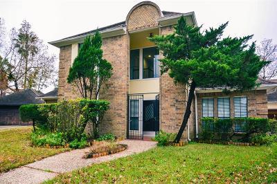Houston Single Family Home For Sale: 323 Wood Loop Street
