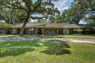 Houston TX Single Family Home For Sale: $745,000