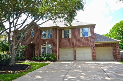 Missouri City Single Family Home For Sale: 3019 Five Oaks Drive