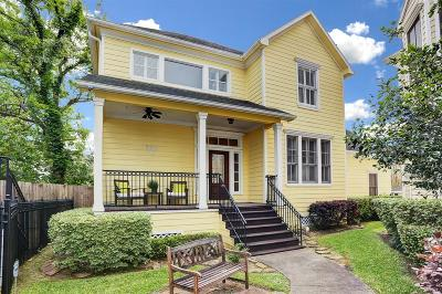 Houston Single Family Home For Sale: 520 Oxford Street #D