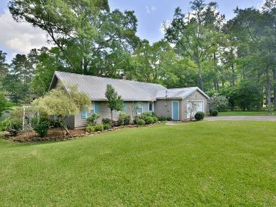 Montgomery Single Family Home For Sale: 23800 S Lake View Road