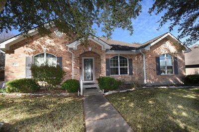 Brenham Single Family Home For Sale: 401 Tanglewood Drive