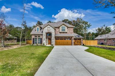 Conroe Single Family Home For Sale: 4607 Axis Trail