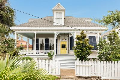 Galveston Single Family Home For Sale: 913 16th Street
