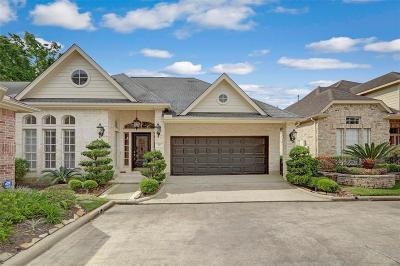 Houston Single Family Home For Sale: 78 Champion Villa Drive