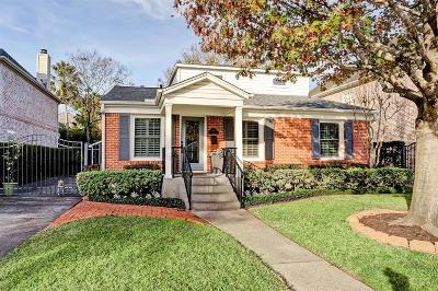 West University Place Single Family Home For Sale: 4032 Milton Street