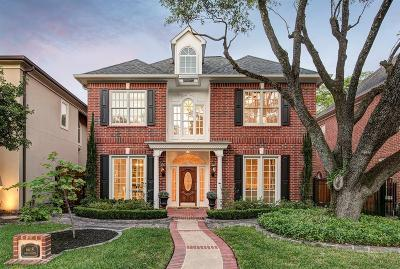 West University Place Single Family Home For Sale: 6619 Westchester Avenue