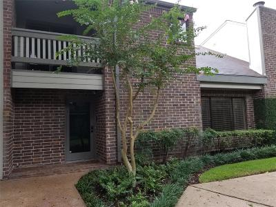 Houston Condo/Townhouse For Sale: 1114 Augusta Drive #3