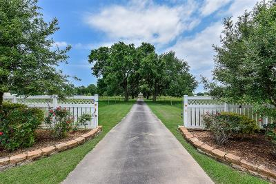 Wharton County Country Home/Acreage For Sale: 4825 County Road 155