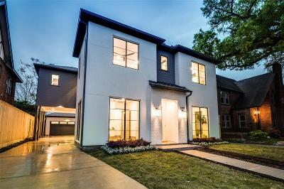 Houston Single Family Home For Sale: 1727 Marshall Street