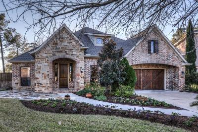 Conroe Single Family Home For Sale: 129 W Silverwood Ranch Estate
