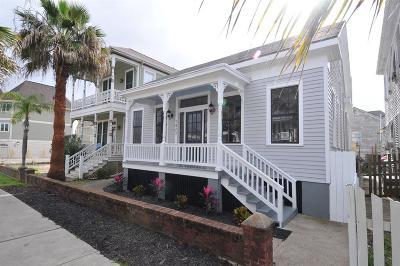 Galveston Single Family Home For Sale: 1423 Mechanic Street