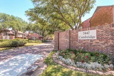 Harris County Rental For Rent: 7447 Cambridge Street #93