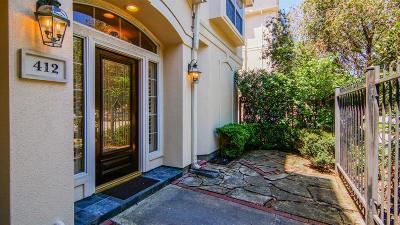 Houston Condo/Townhouse For Sale: 412 Hadley Street
