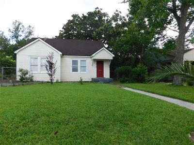 Houston Single Family Home For Sale: 316 Joyce Street