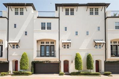 Houston Condo/Townhouse For Sale: 8930 Lakeshore Bend Drive