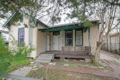 Houston Single Family Home For Sale: 711 Quitman Street