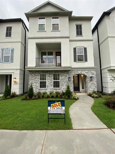 Houston Single Family Home For Sale: 3503 Ridgeway Valley Lane