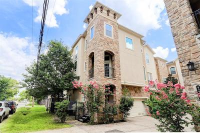 Houston Condo/Townhouse For Sale: 5305 Egbert Street #A