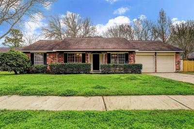 Friendswood Single Family Home For Sale: 1104 Lost River Drive