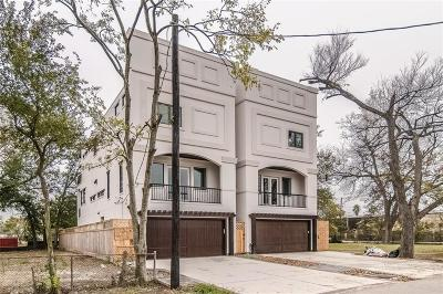 Houston Single Family Home For Sale: 1410 Parker Street