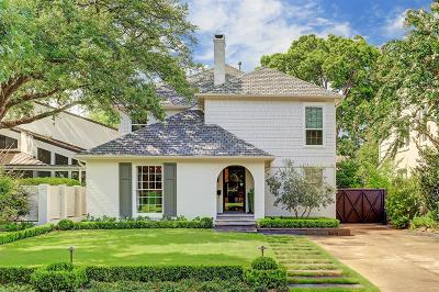 West University Place Single Family Home For Sale: 3514 Sunset Boulevard