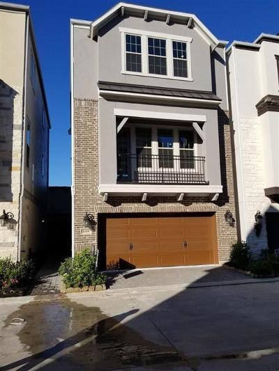 Houston Single Family Home For Sale: 8340 Ginger Oak