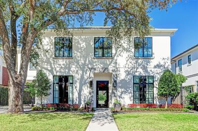 Houston Single Family Home For Sale: 2122 Del Monte Drive