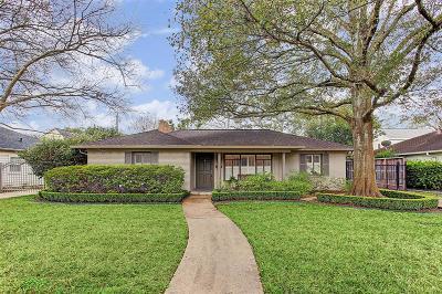 Houston Single Family Home For Sale: 4023 W Alabama Street