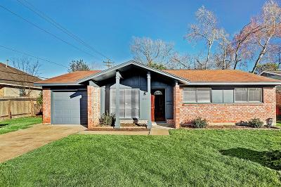 Houston TX Single Family Home For Sale: $139,700