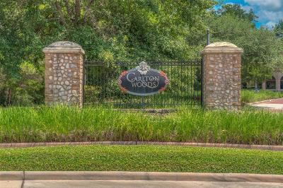 The Woodlands Residential Lots & Land For Sale: 95 W Grand Regency Circle