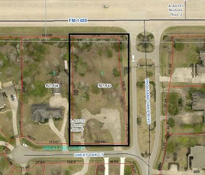 Magnolia Residential Lots & Land For Sale: 12102 Great Oak Court