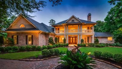 The Woodlands TX Single Family Home For Sale: $2,250,000