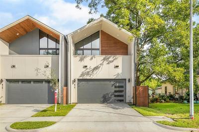 Houston Single Family Home For Sale: 827 Aurora Street