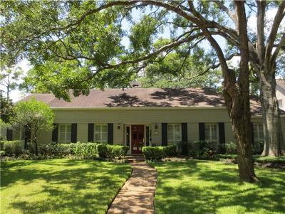 Bunker Hill Village Single Family Home For Sale: 235 Plantation Road