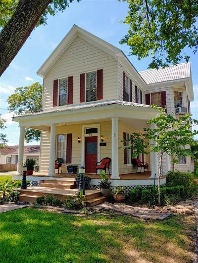Schulenburg Single Family Home For Sale: 515 Wolf Street