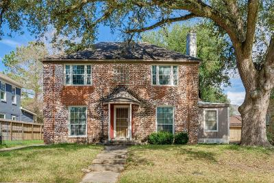 Houston Single Family Home For Sale: 3213 Milburn Street