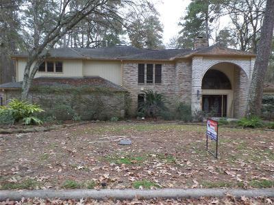 Kingwood Single Family Home For Sale: 2350 Lake Village Drive