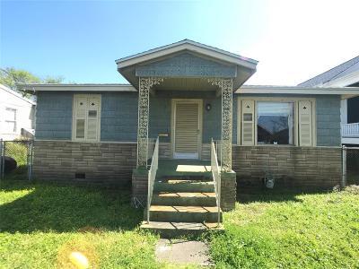 Galveston Single Family Home For Sale: 3809 Avenue L