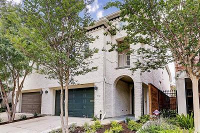 Houston Condo/Townhouse For Sale: 5314 Hidalgo Street
