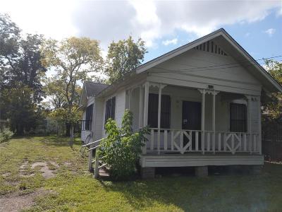 Houston Single Family Home For Sale: 7128 Avenue J