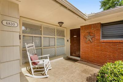 Houston Single Family Home For Sale: 6830 Hazen Street