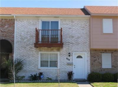Galveston Condo/Townhouse For Sale: 408 1st Street
