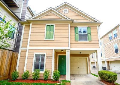 Houston Single Family Home For Sale: 1202 Palmer Street