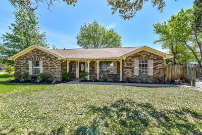 La Porte Single Family Home For Sale: 11000 San Jacinto Drive