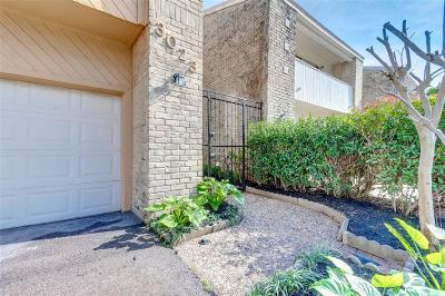 Harris County Condo/Townhouse For Sale: 3023 Bering Drive