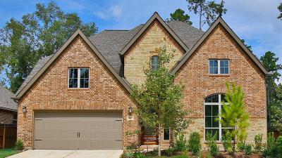 Magnolia Single Family Home For Sale: 8511 Percy Ridge Drive
