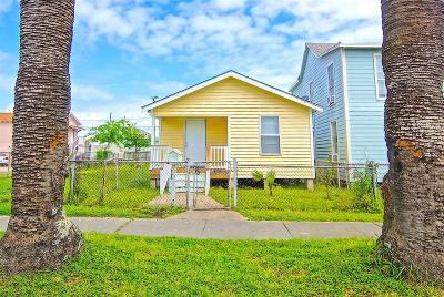 Galveston Single Family Home For Sale: 5010 Avenue M